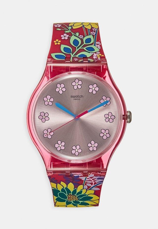DHABISCUS - Horloge - pink