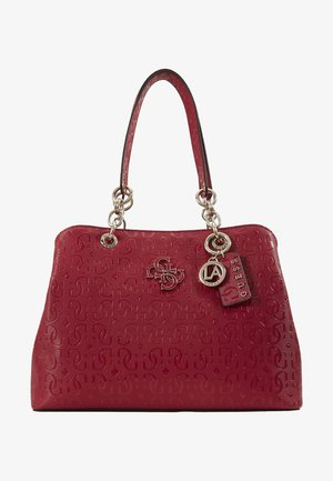 CHIC SHINE - Handtasche - berry