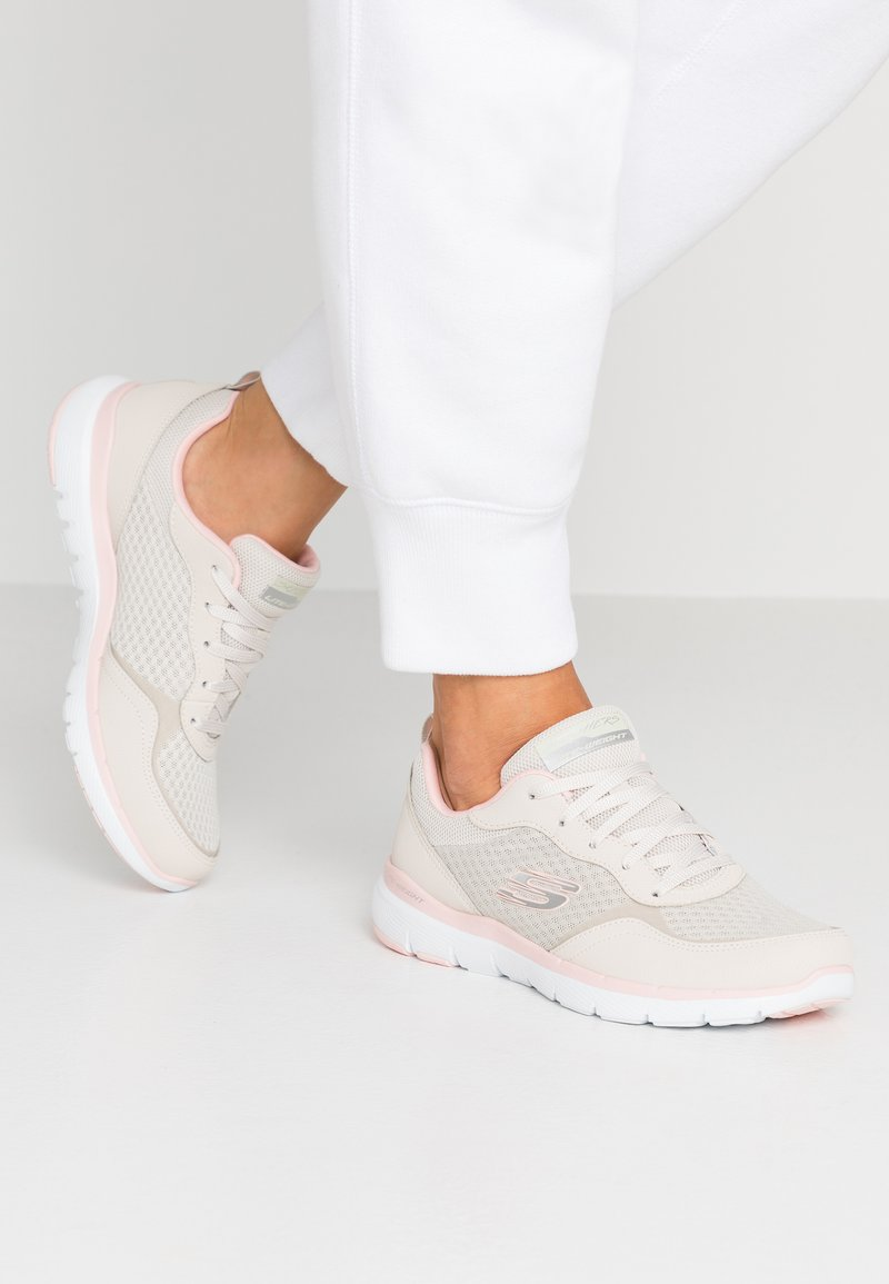 Skechers Sport - FLEX APPEAL 3.0 - Trainers - natural/pink