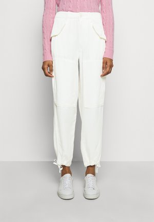 RELAXED PANT - Bukser - chic cream