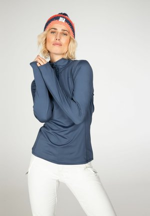 FABRIZ  - Fleece jumper - atlantic