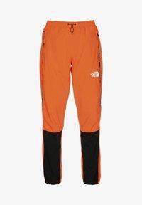 The North Face - Tracksuit bottoms - black-shocking orange - 0