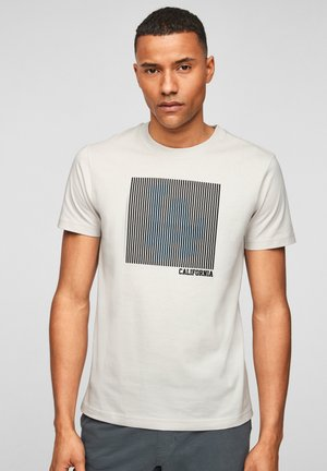 3D DRUCKMOTIV - T-Shirt print - cream