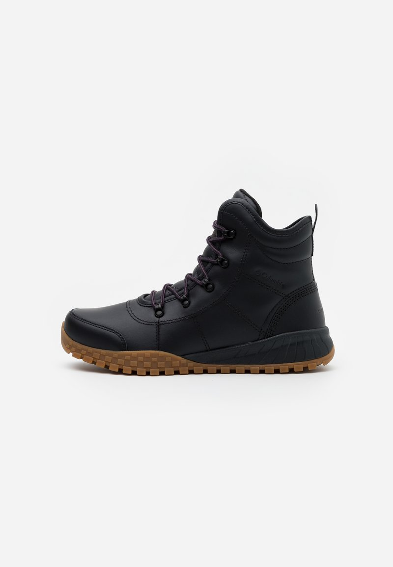 Columbia - FAIRBANKSROVER - Winter boots - black/cyber purple