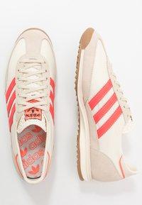 adidas Originals - SL 72  - Tenisky - cream white/solar red - 4