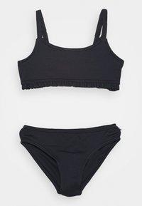 Abercrombie & Fitch - RUCHED KEYHOLE SET - Bikini - navy - 0