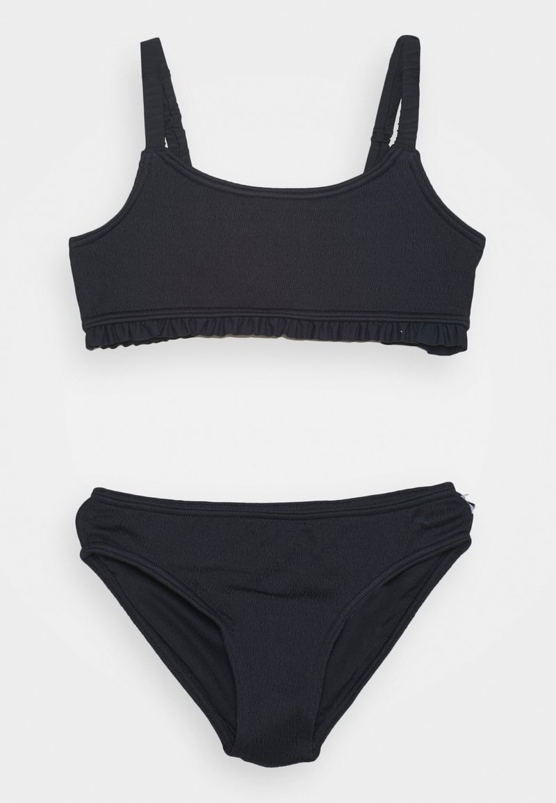 Abercrombie & Fitch - RUCHED KEYHOLE SET - Bikini - navy