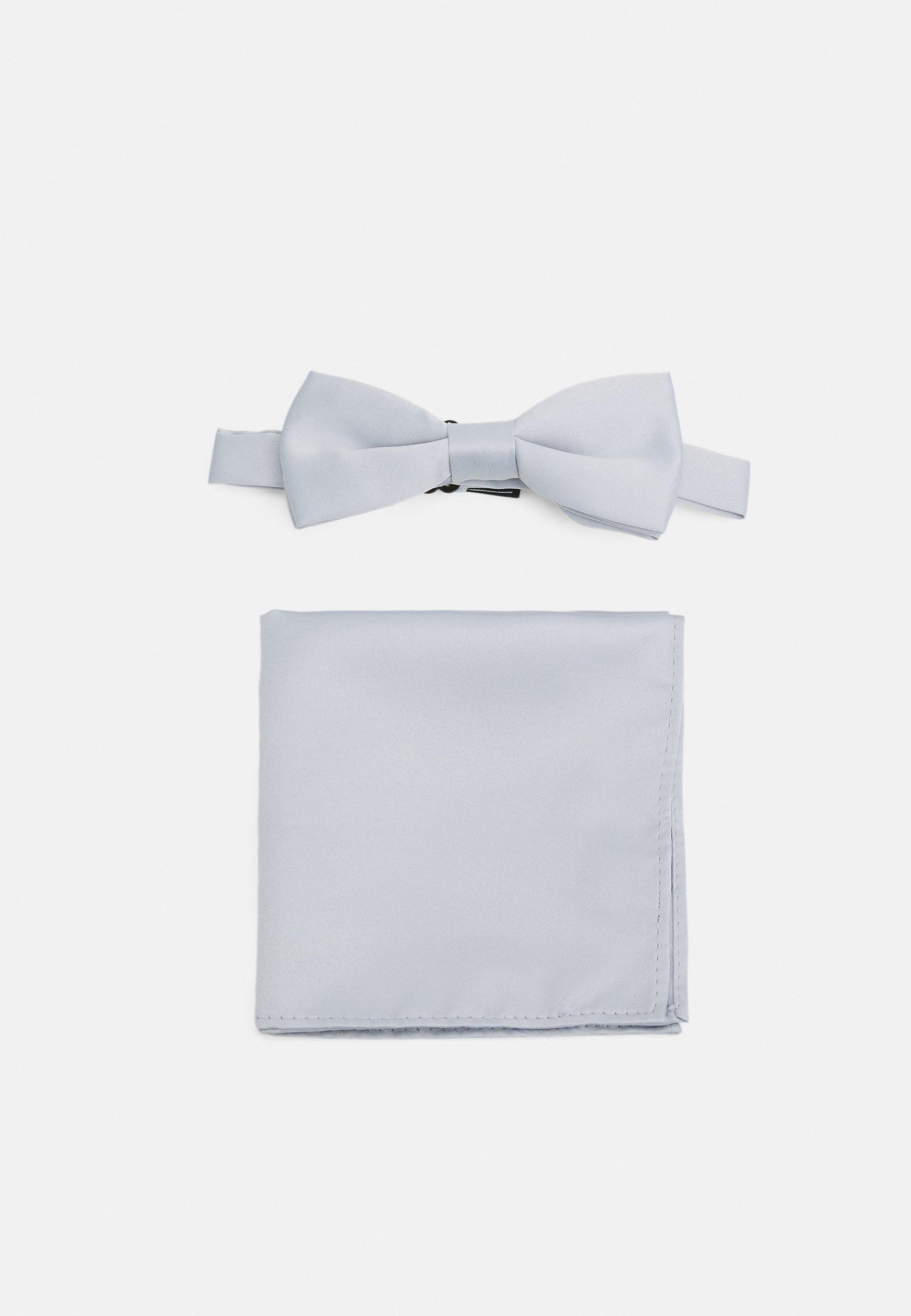 Men ONSTRENT BOW TIE BOX HANKERCHIEF SET - Pocket square