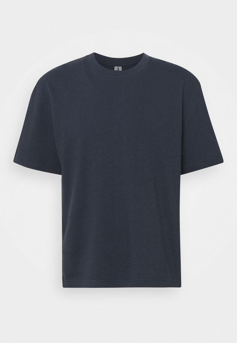 ARKET - BASIC TOWELLING T-SHIRT - T-shirt basic - blue