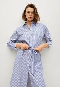 Mango - Shirt dress - azul - 0