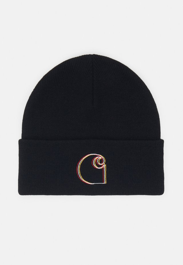COMMISSION LOGO BEANIE - Čepice - black
