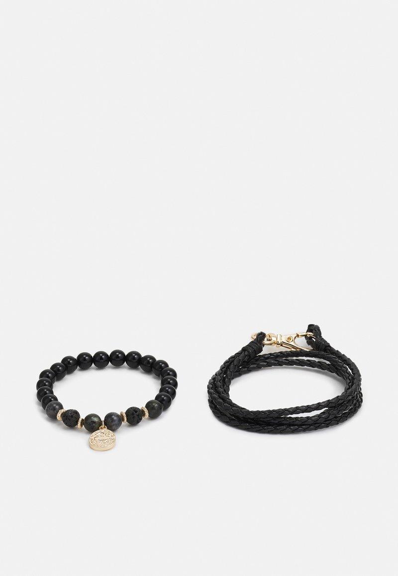 Burton Menswear London - WRAP 2 PACK - Armband - black