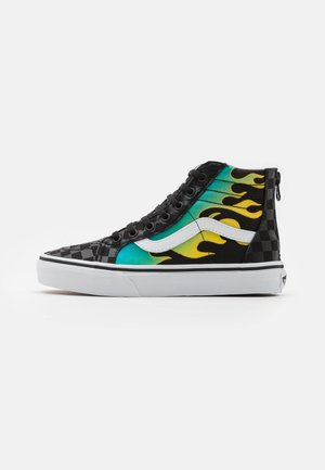 SK8 ZIP UNISEX - Sneaker high - black/true white