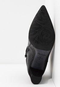 PERLATO - High heeled ankle boots - noir - 6