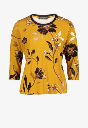 MIT MUSTER - T-shirt à manches longues - yellow black