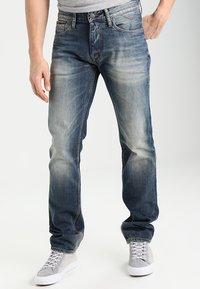 Tommy Jeans - ORIGINAL RYAN PEB - Džíny Straight Fit - penrose blue - 0