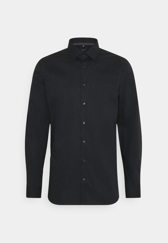 Finskjorte - schwarz