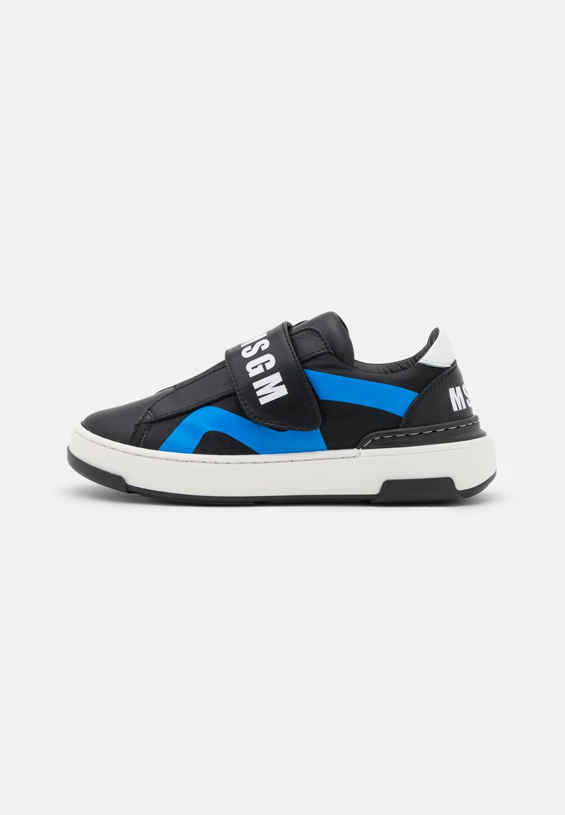 MSGM - UNISEX - Trainers - black/blue