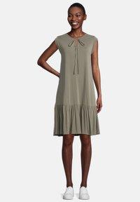 Cartoon - Jersey dress - khaki - 0
