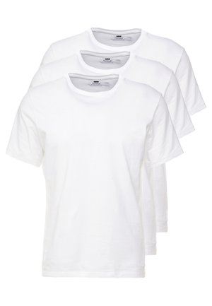 3 PACK - T-shirt - bas - white