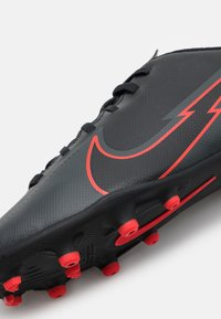 Nike Performance - MERCURIAL JR VAPOR 13 CLUB FG/MG UNISEX - Moulded stud football boots - black/dark smoke grey - 5