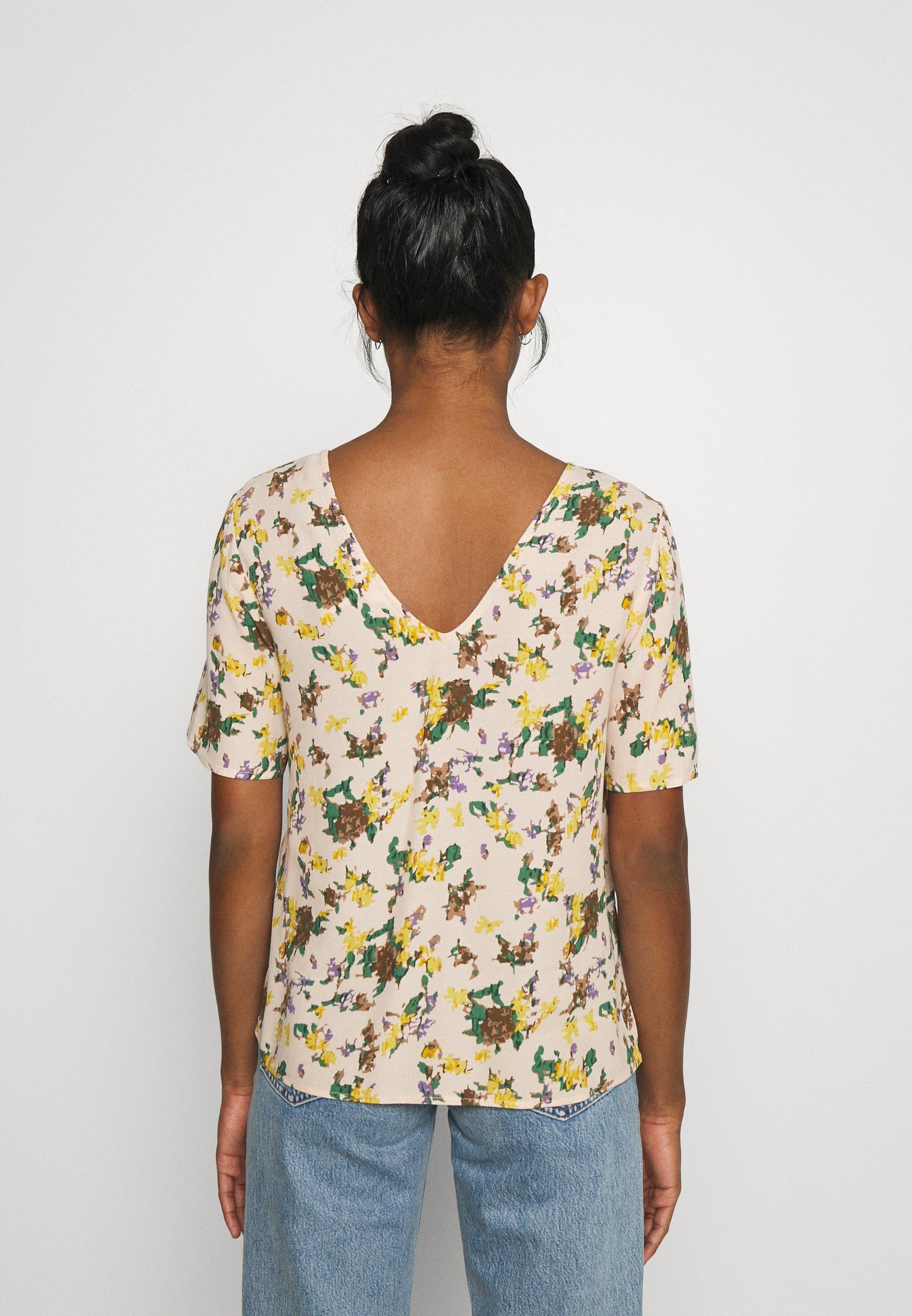 Femme OBJFANNIE NELLE - T-shirt imprimé