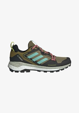 TERREX SKYCHASER GORE-TEX 2.0 WANDERSCHUH - Stabilty running shoes - green
