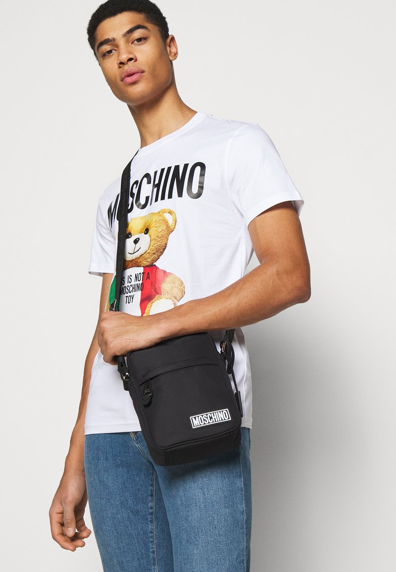 MOSCHINO - UNISEX - Across body bag - black