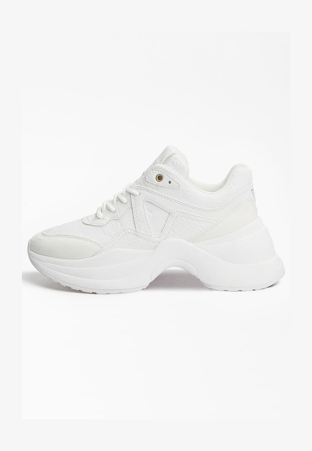 JOEHLE EINGEPRÄGTES LOGO - Sneakers laag - weiß