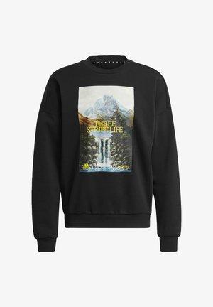 M STREET Q1 CRW - Sweatshirts - black