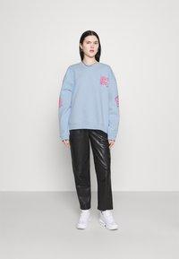 NEW girl ORDER - CHERRY TRIP  - Sweatshirt - blue - 1