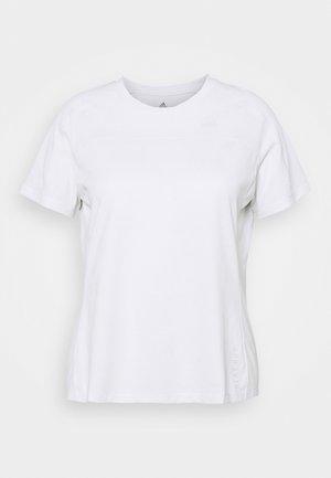 HEAT TEE - Basic T-shirt - white