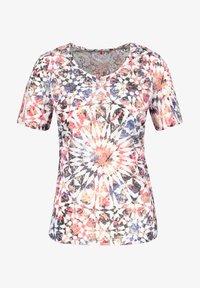 Gerry Weber - Print T-shirt - rot/orange/blau multicolor - 3