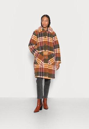 Winter coat - brown mix