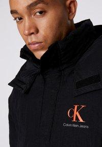 Calvin Klein Jeans - OVERSIZED PUFFER JACKET - Piumino - black - 6