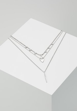 NECKLACE - Necklace - silver-coloured
