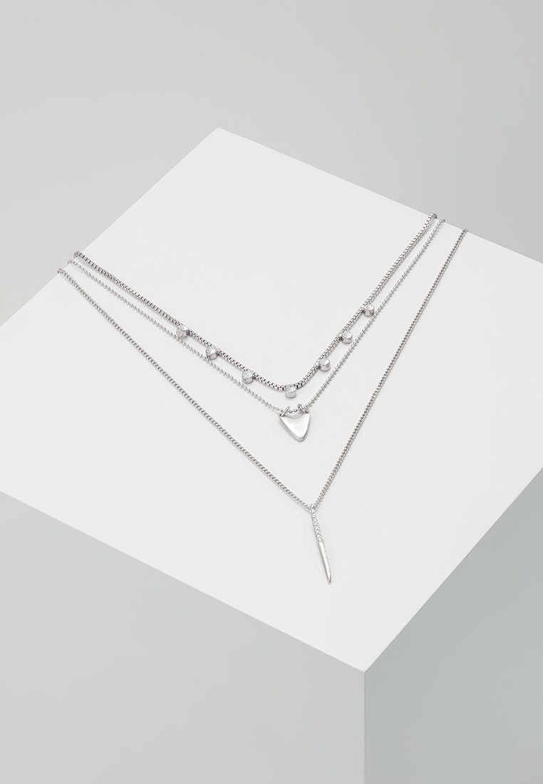Pilgrim - NECKLACE - Necklace - silver-coloured