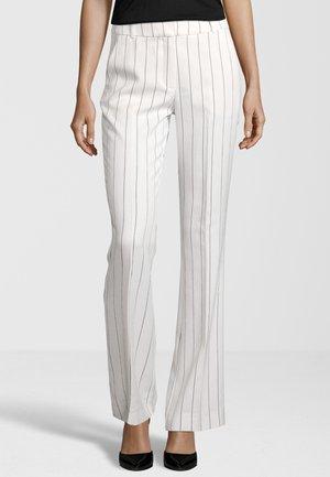 CLARA - Trousers - white