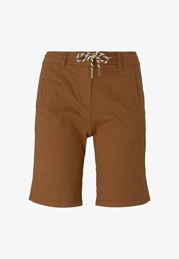 Shorts - caramel brown
