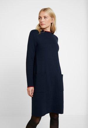 Vestido de punto - navy blue