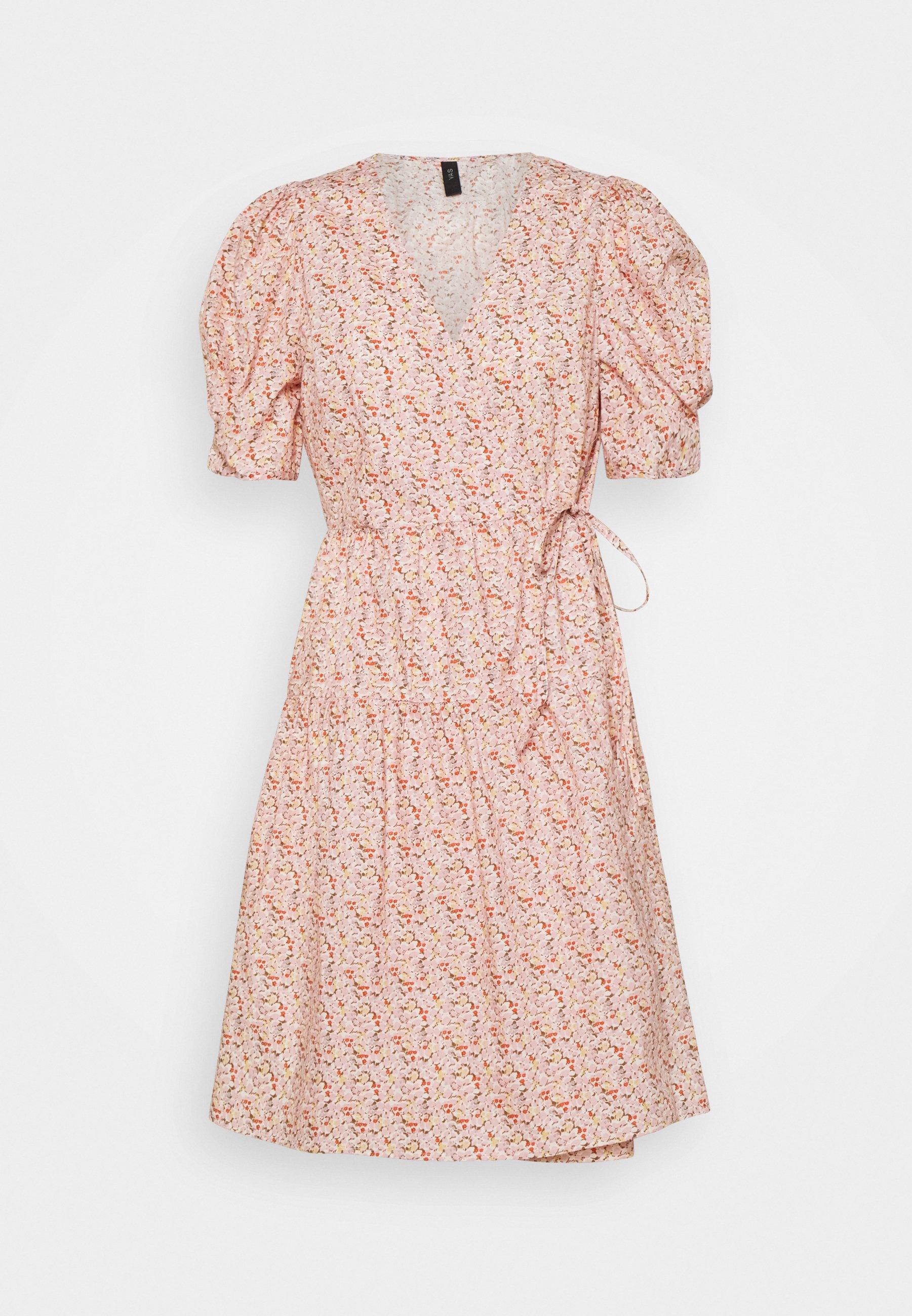 Women YASRICCA WRAP DRESS - Day dress