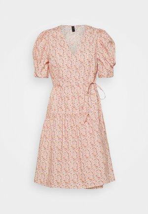 YASRICCA WRAP DRESS - Day dress - roseate spoonbill/ricca