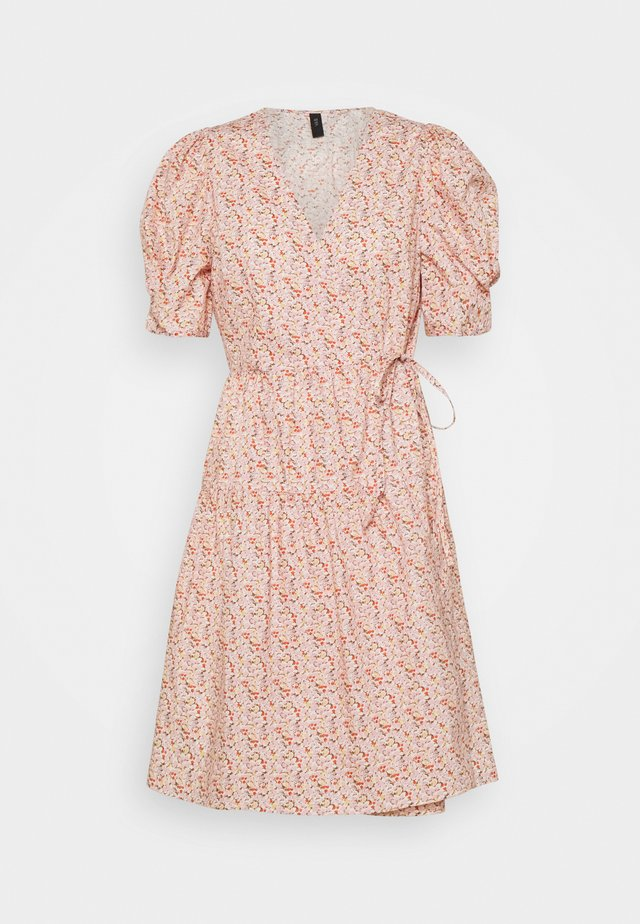 YASRICCA WRAP DRESS - Korte jurk - roseate spoonbill/ricca