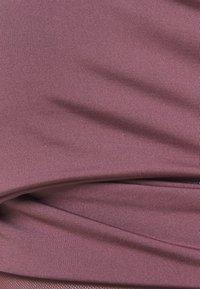 South Beach - WRAP CROP - Sports-BH-er med lett støtte - rose brown - 2