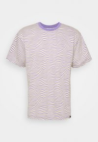 Vintage Supply - STRIPE TEE - Print T-shirt - purple - 4