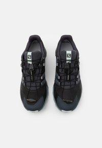 Salomon - WINGS SKY GTX - Scarpe da trail running - india ink/black/opal blue - 3