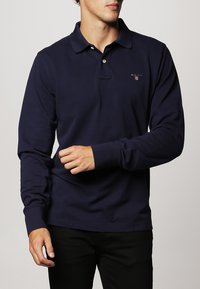 GANT - THE ORIGINAL RUGGER - Polo shirt - evening blue - 1