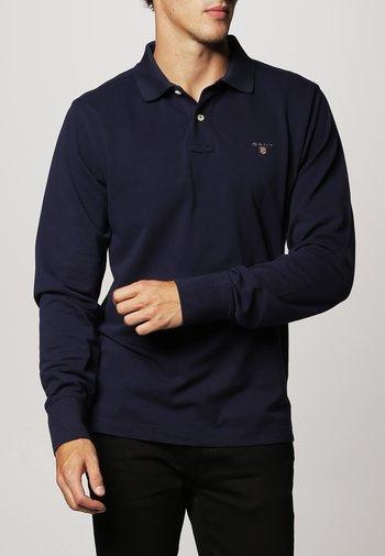 THE ORIGINAL RUGGER - Polo shirt - evening blue