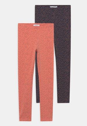 NKFDAVINA 2 PACK - Leggings - Trousers - dark sapphire