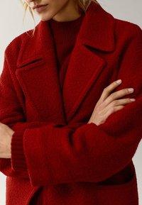 Massimo Dutti - Classic coat - red - 3